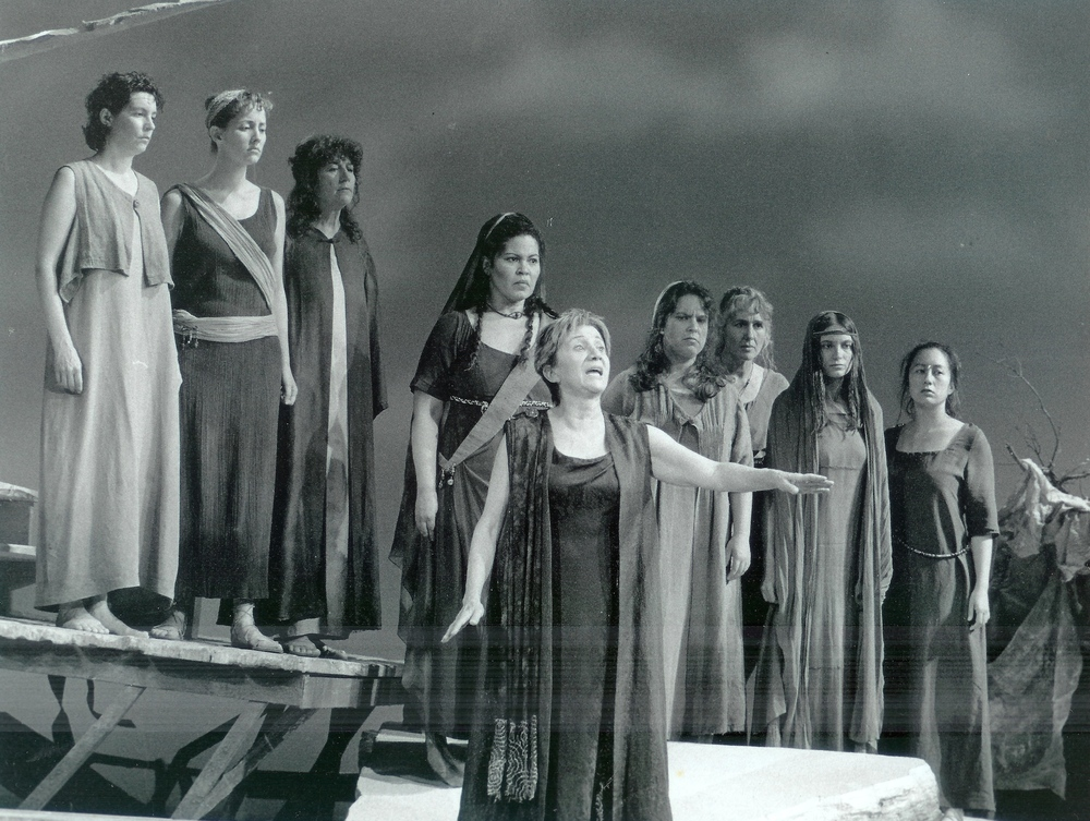ACT Production of Hecuba 1998 with Olympia Dukakis