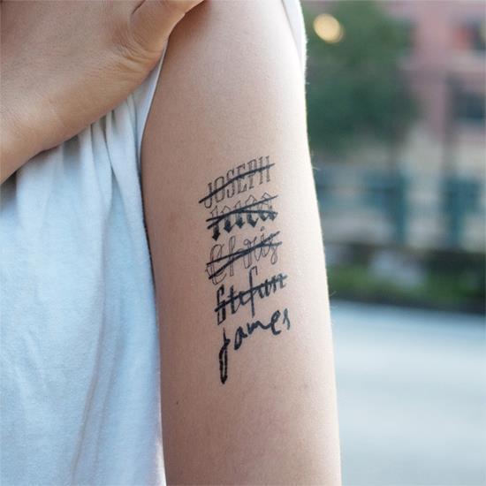 name tattoo regret
