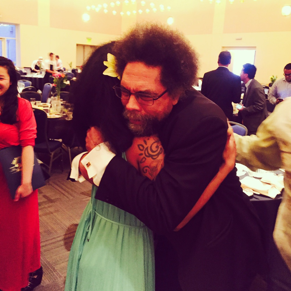 UC Davis 25th Anniversary of the Cross Cultural Center opening for Cornel West.