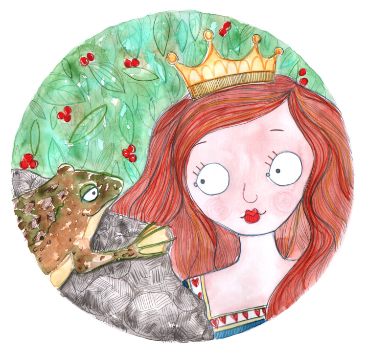 The original Lesson version by artist Rachelle Panagarry for Ever After 2016