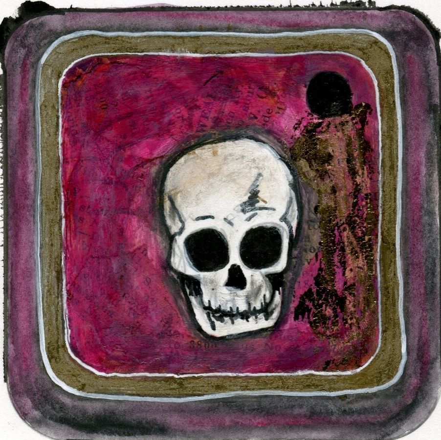 Instagram Feed. Skull Instagram Icon Artwork by Jaime Leigh. Please do not share without permission.