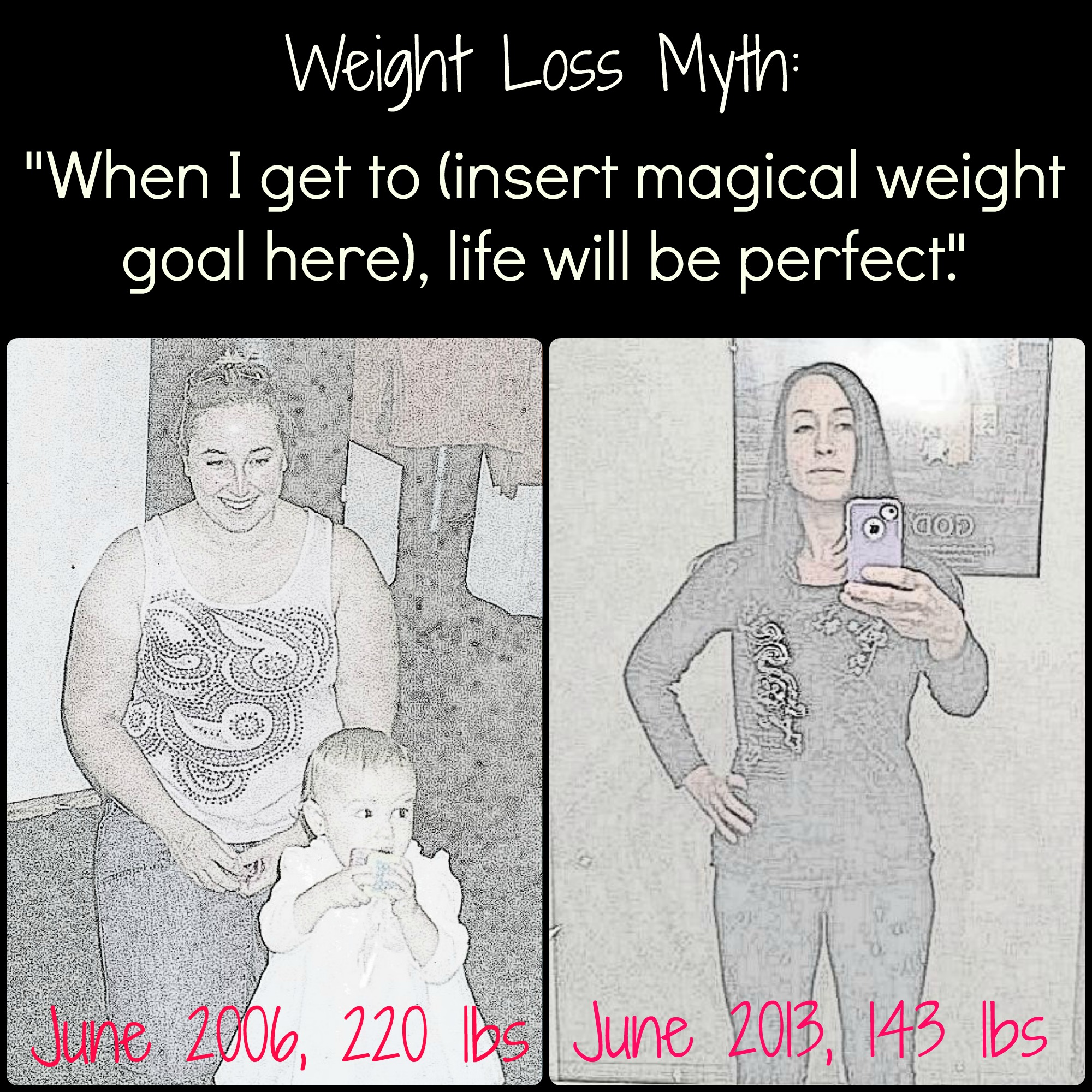 Will your goal weight make life perfect?