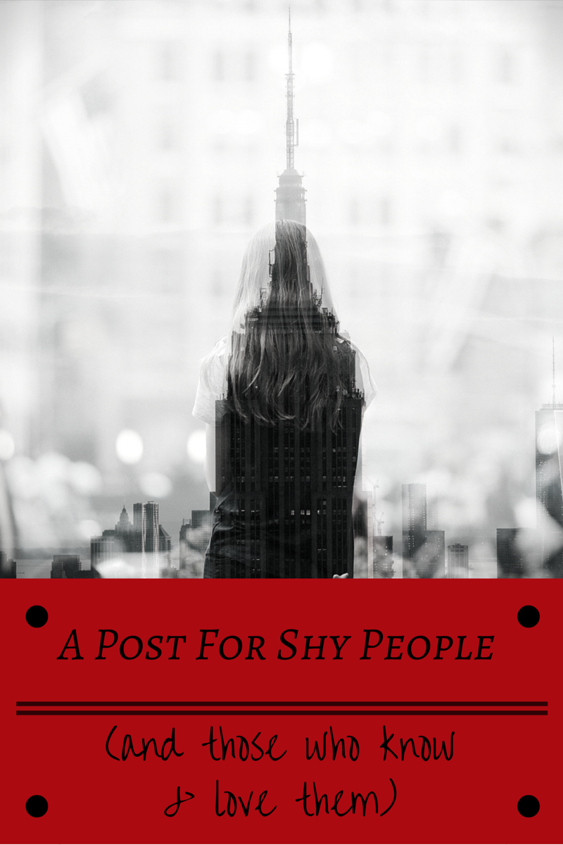 A Post for Shy People