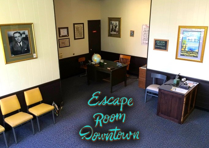 A unique gaming experience awaits guests at Escape Room Downtown!