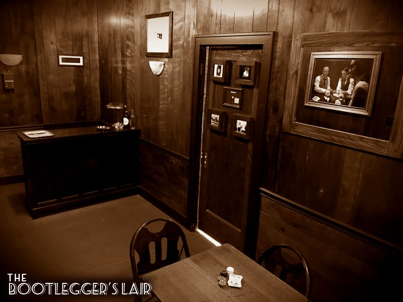 Prohibition - era gambling den escape room