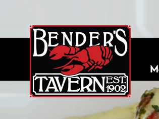 Bender's has great food and drink and is just across the street from  Escape Room Downtown !