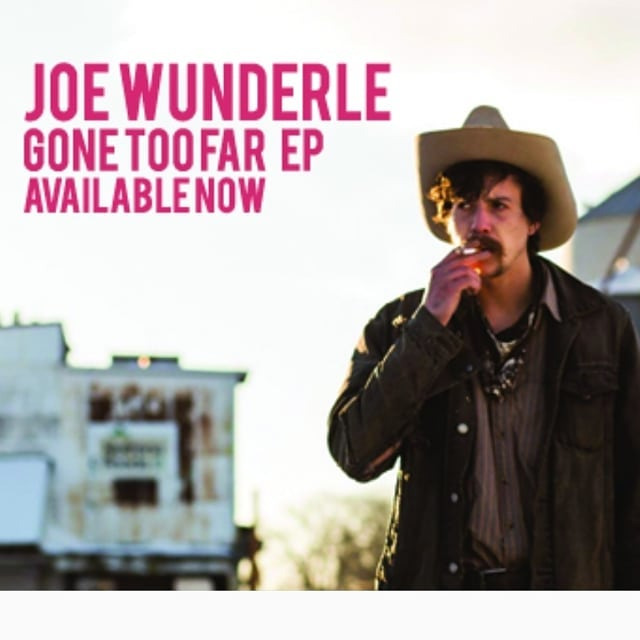 """Joe Wunderle's EP """"Gone Too Far"""" is up and ready for free downloads. We have been working hard on making a debut album for Joe. There are some fantastic players on the record and a batch of 11 cut throat original songs. This is a prequel to the full length.. Check it out here! joewunderle.bandcamp.com/releases  Enjoy some stripped down paralyzing steel. The whole thing reads like a Faulkner novel!!"""