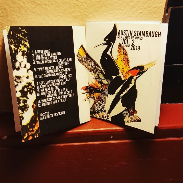 """""""Some Kind Of Wings Vol. 2"""" is out!!!! Snag your lovely flowered copy tonight  at the Kinky Friedman show!! With all new selections like, """"A New Song"""" """"Feel Like Spending It All"""" & """"My Fear Of God"""" Many more too!! #somekindofwings #2019 #spring editions #printzine #hellyea #thereaintnomoneyinpoetry"""