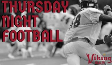 Thursday Night Football Viking Bar