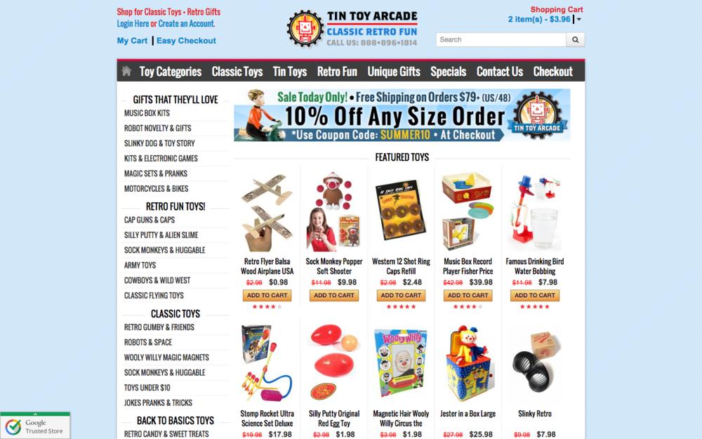 TinToyArcade.com
