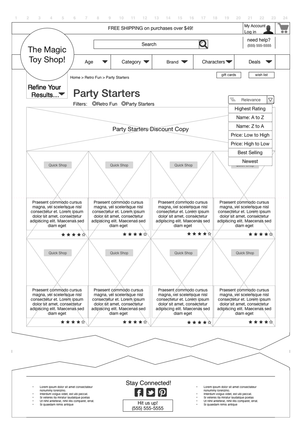some final wires: pick 'party starters'
