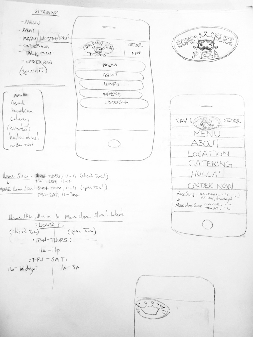 mobile navigation concepts