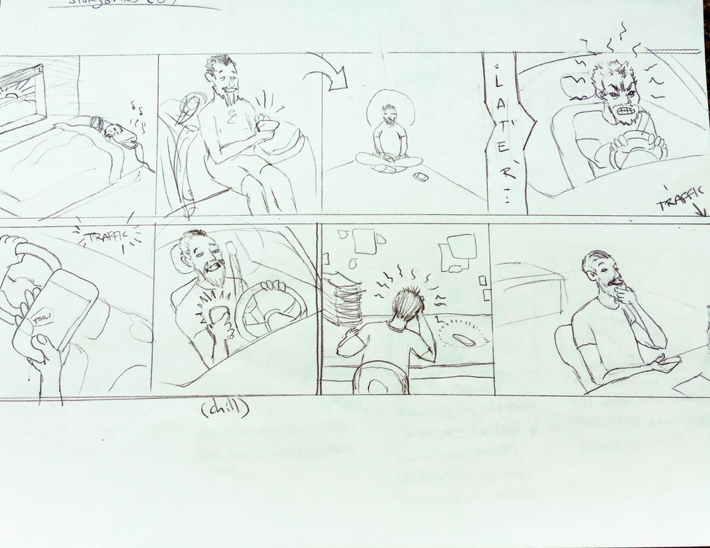 1st storyboards