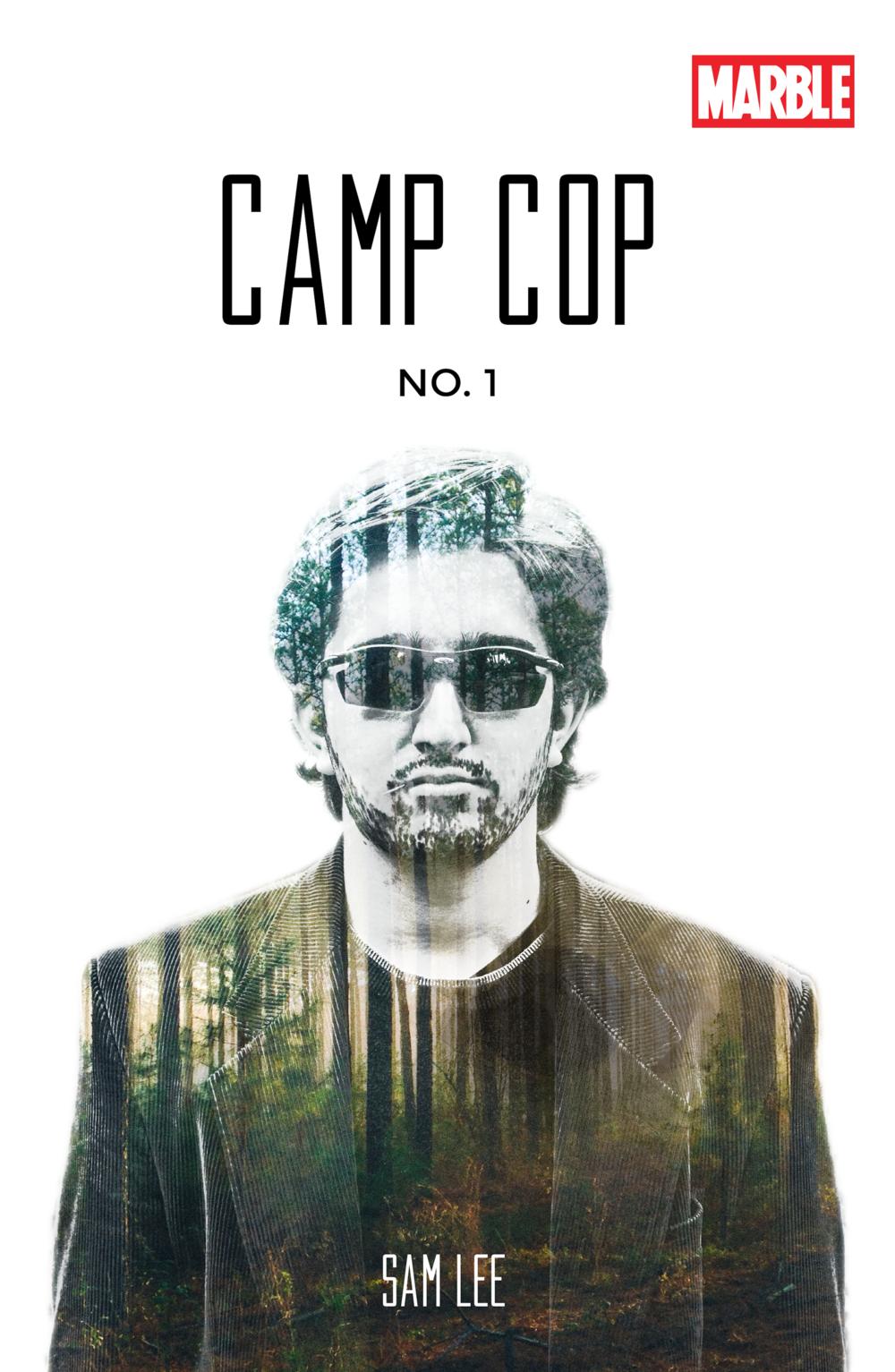 CAMP COP COMIC BOOK COVER