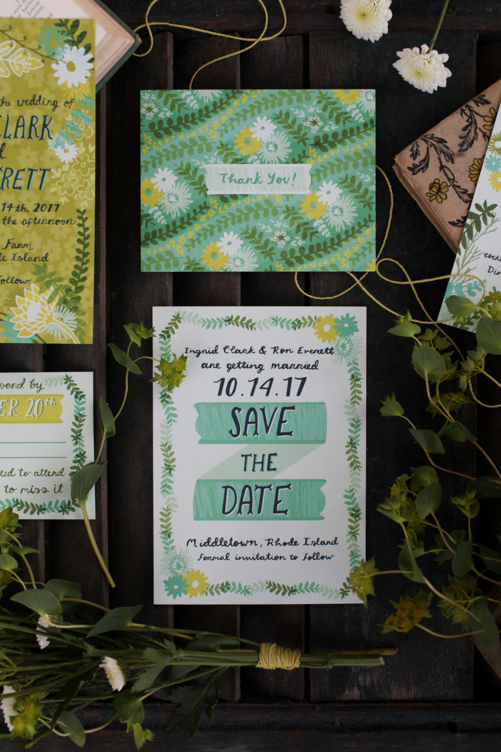 Shop our collections for Invitations, RSVP cards, Save the Dates, and anything else you may need!