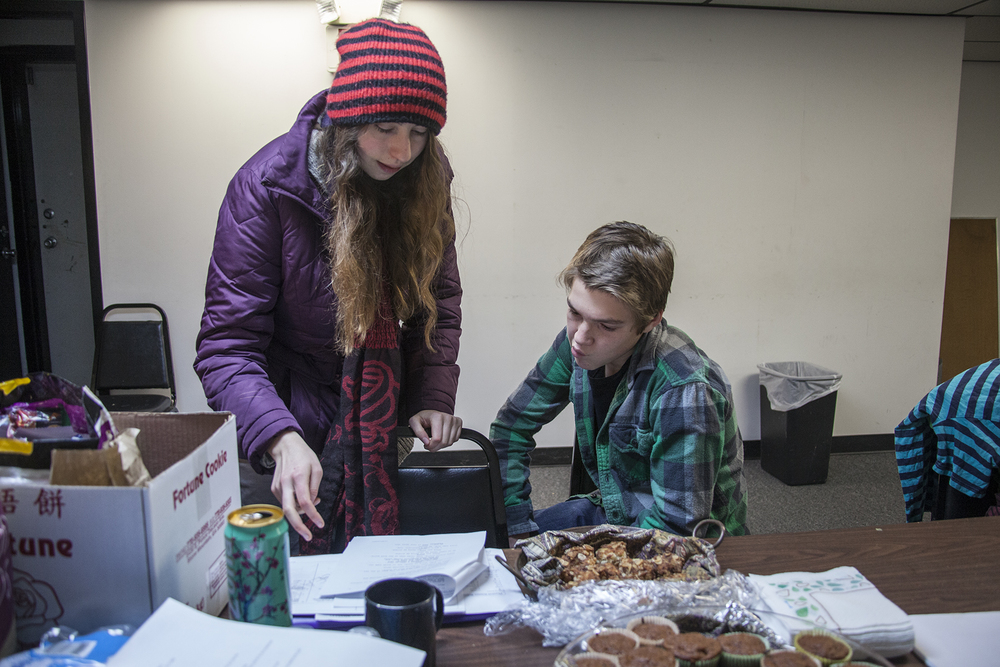 Kira Directing Sam for the next scene.