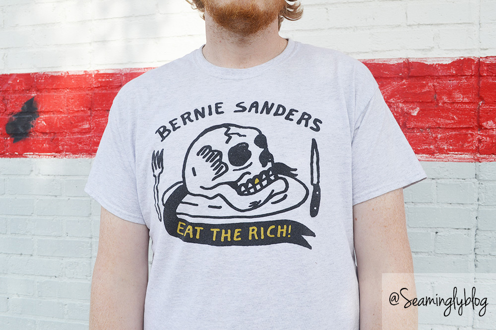 bernie sanders has a posse eat the rich heavy slim eric kenney