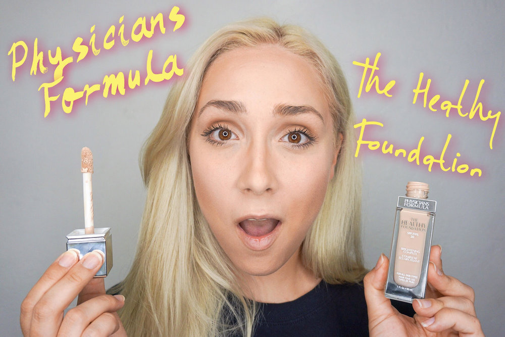 Physicians Formula The Healthy Foundation: First Reactions -