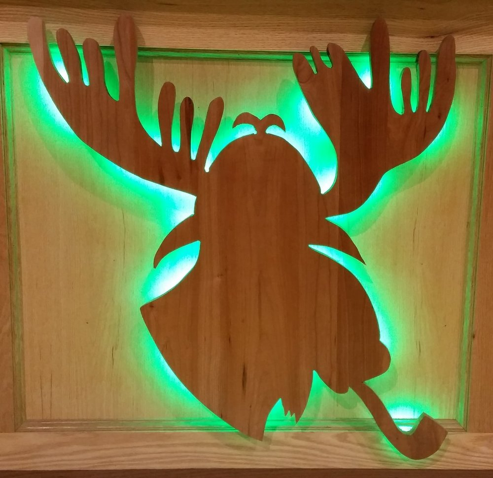 Look for Myst the Moose