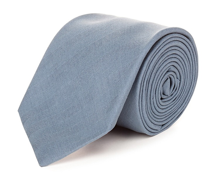 Light Blue Silk Necktie - Handmade, 100% Silk Woven, 58 Inch Length, and Silk Lined