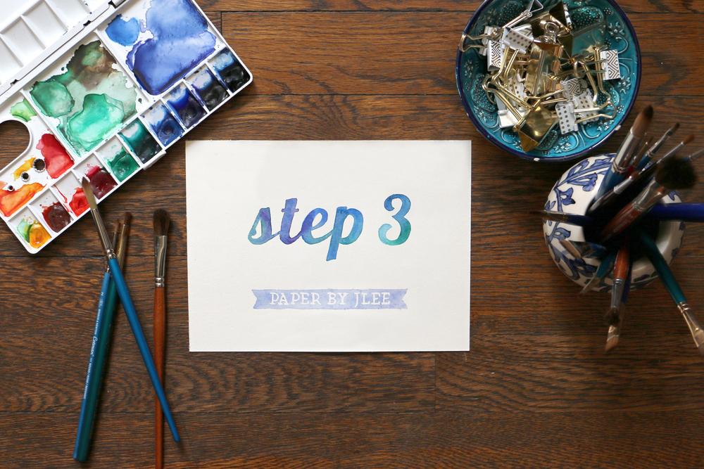 Paper by JLee: Step Three