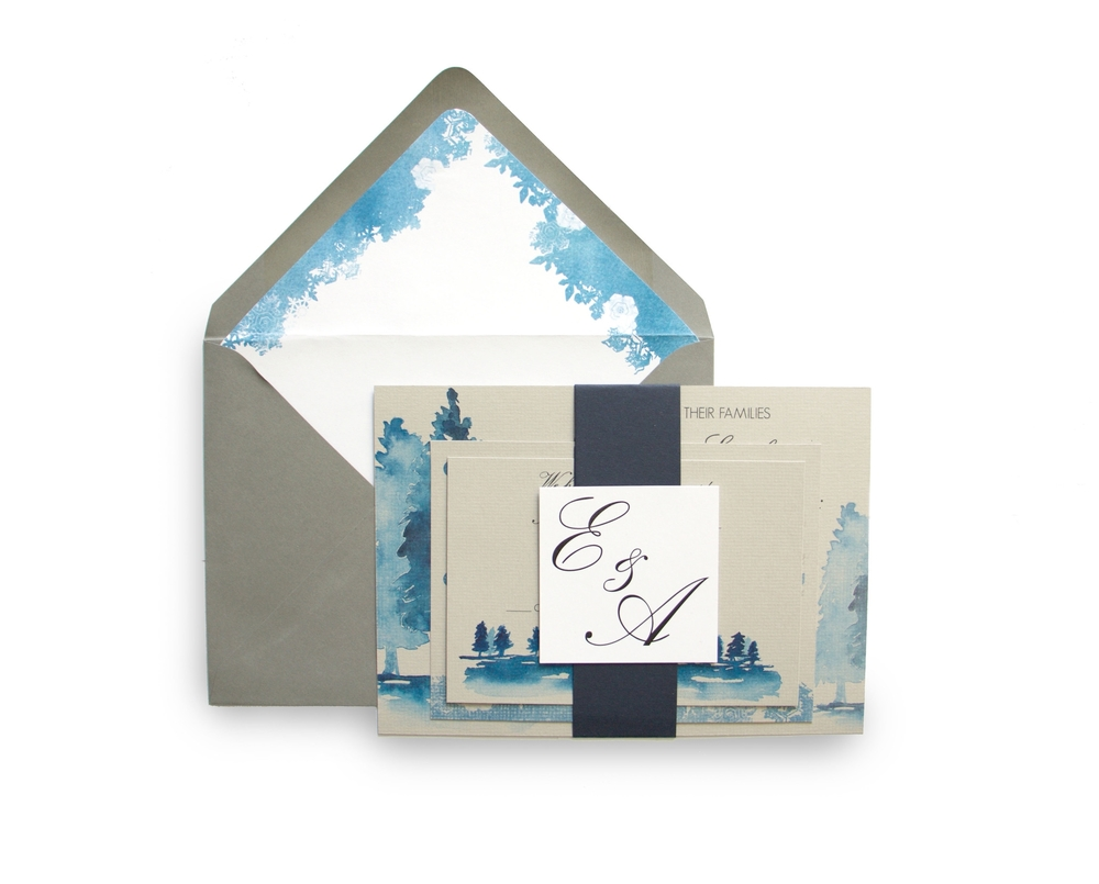 Paper by JLee: Winter Wedding InvitationsPaper by JLee: Winter Wedding Invitations