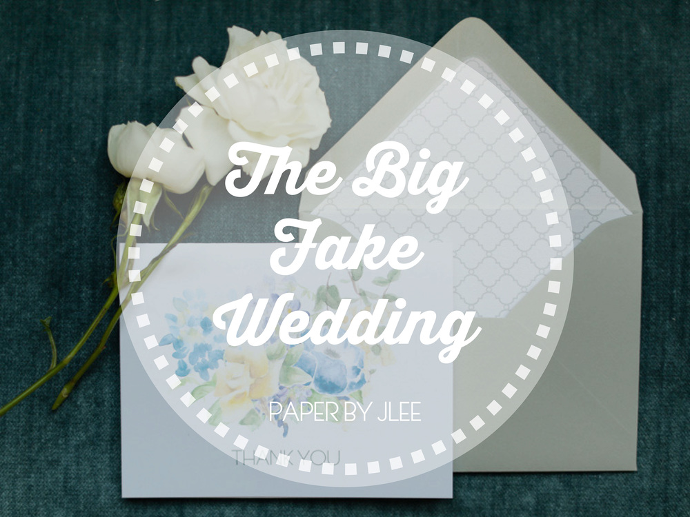 Paper by JLee: Big Fake Wedding NYC