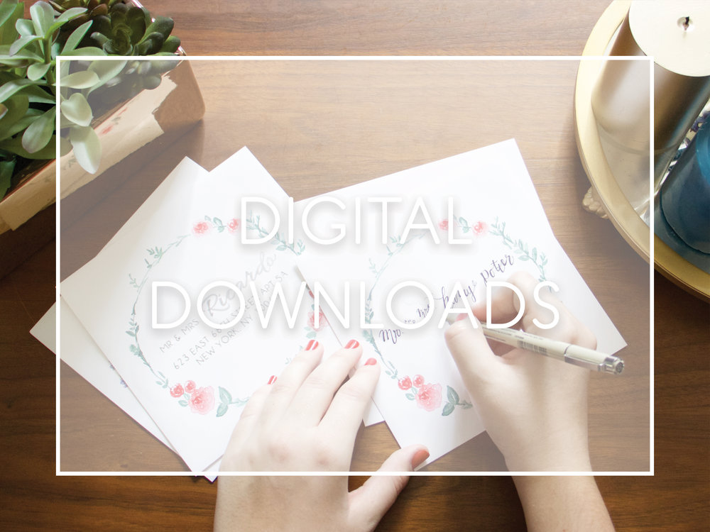 Digital Downloads and Printables