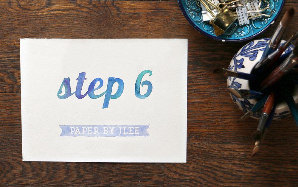 Paper by JLee: Step 6