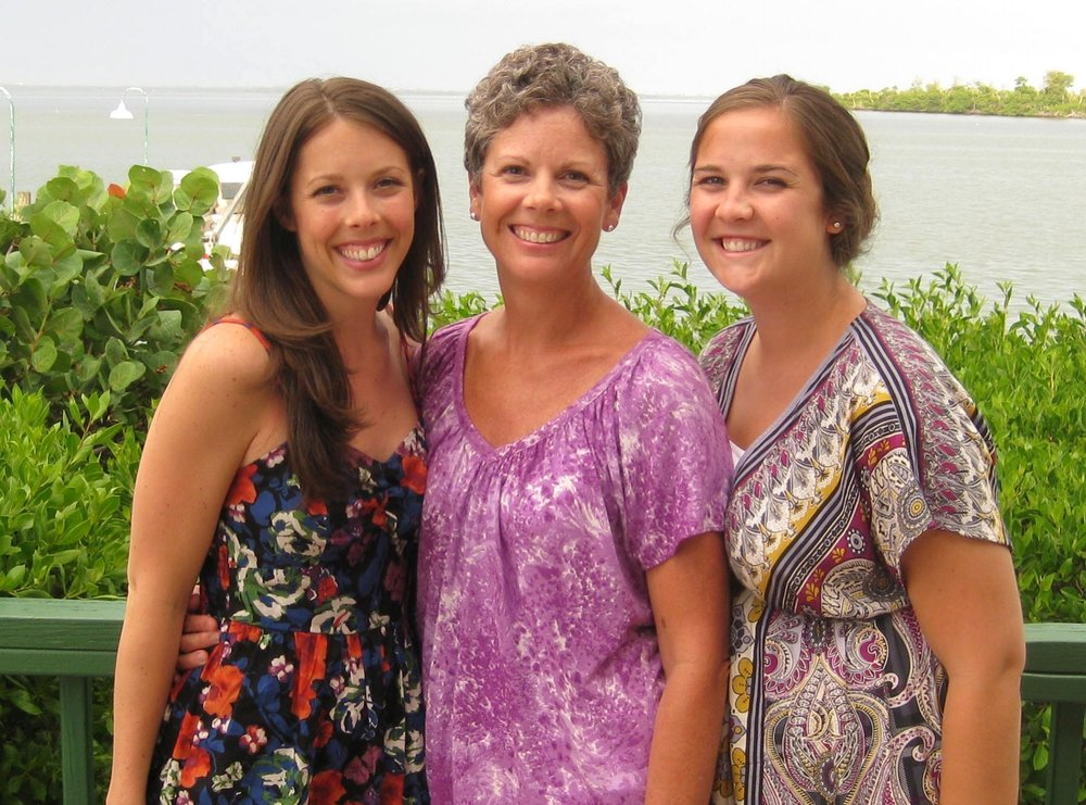 Sis, mom, and me!