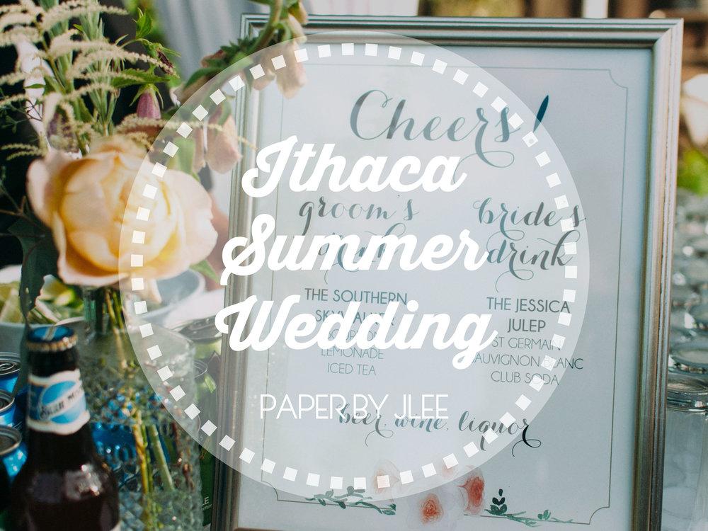 Ithaca Summer Wedding