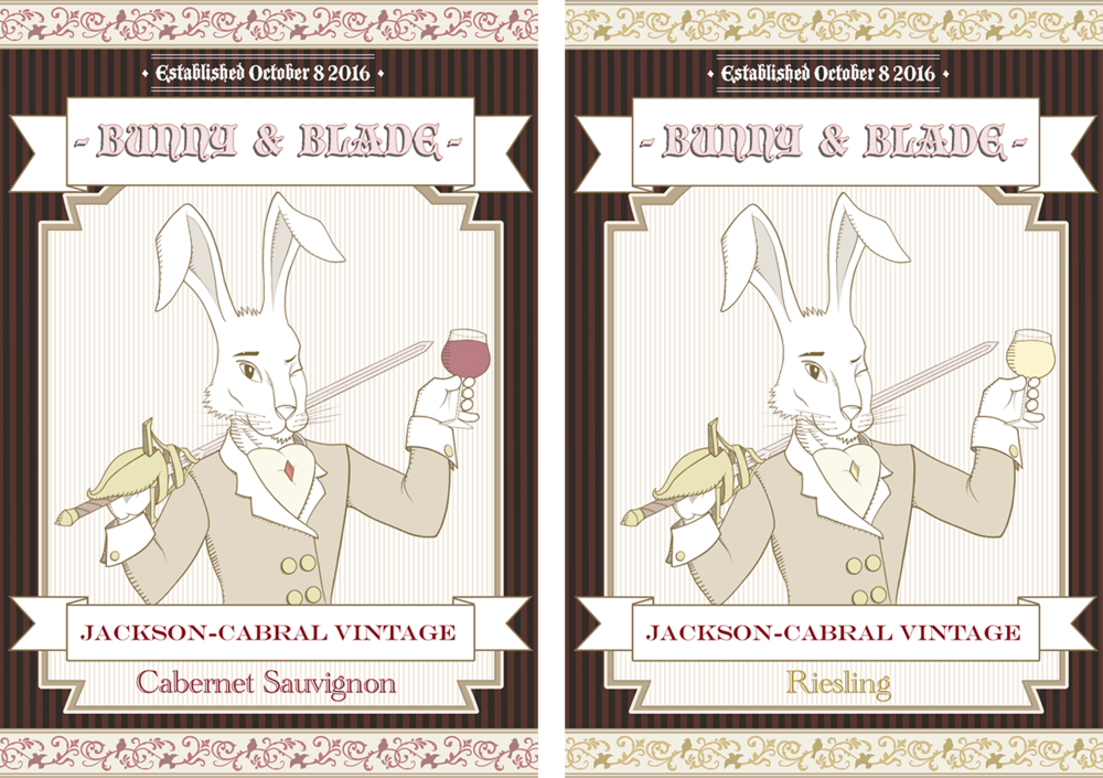 Wine Labels - Jackson-Cabral Wedding