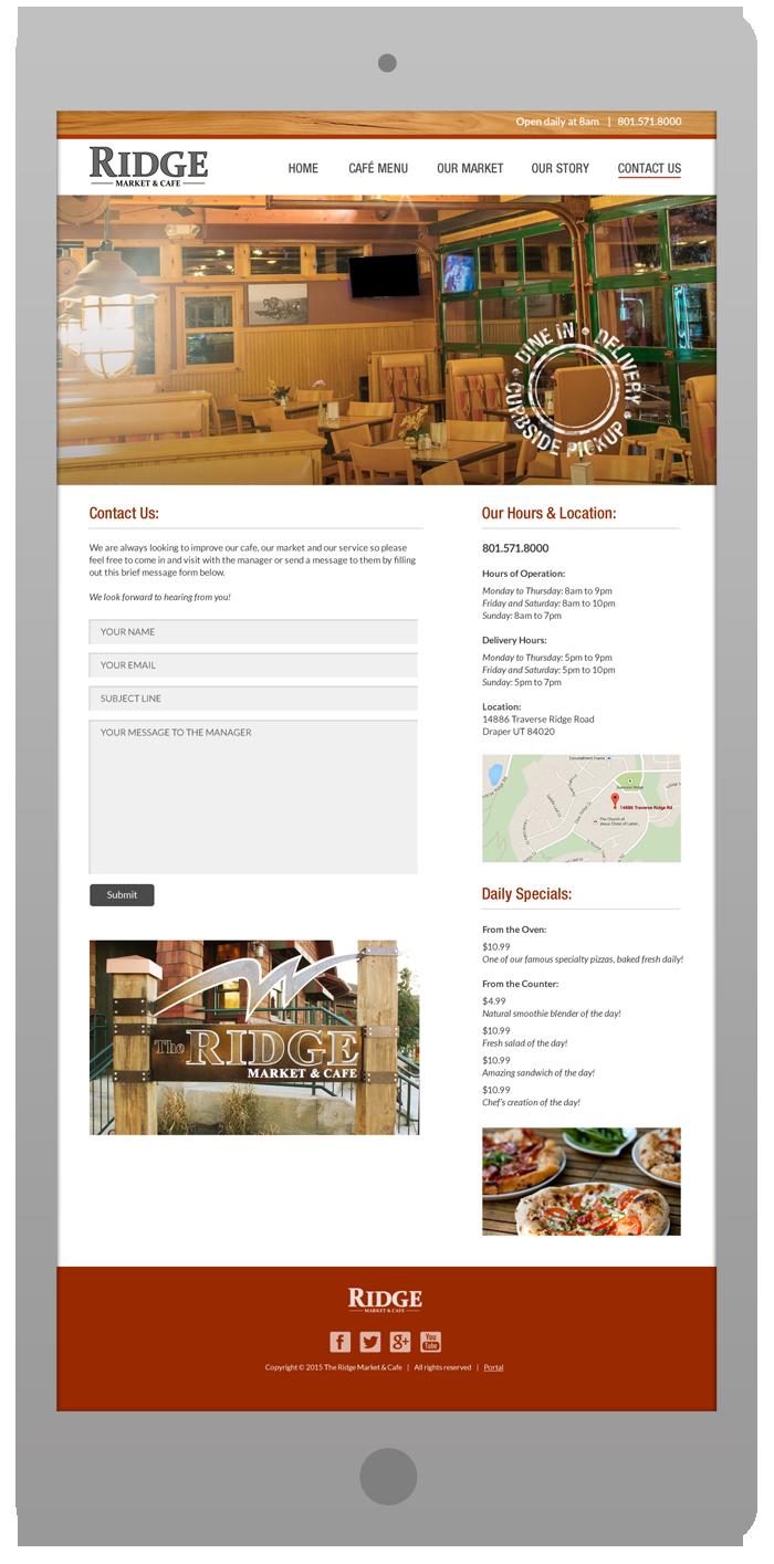 New Website Design - Contact