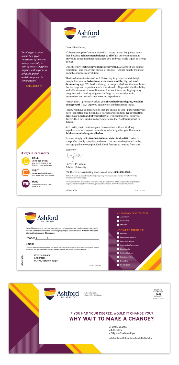 Direct Mail Design - Lead Generation