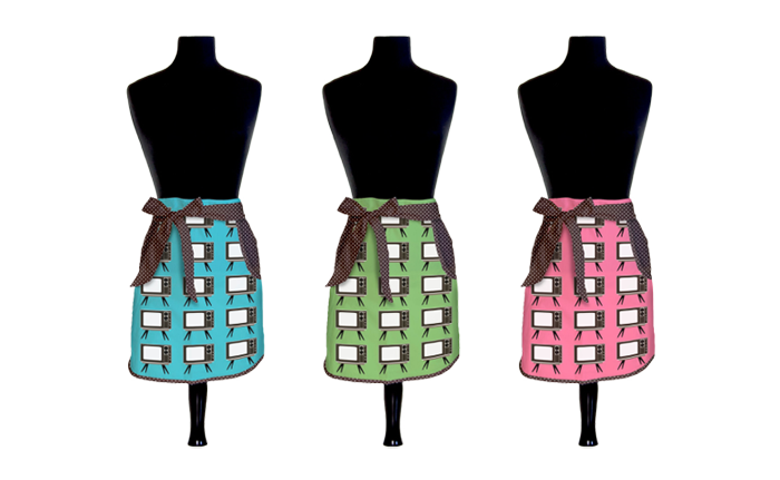 Designer Retro   Aprons  - Product Design & Photography