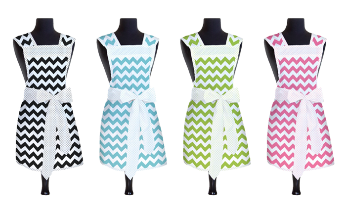 Designer Chevron Smock   Aprons  - Product Design & Photography