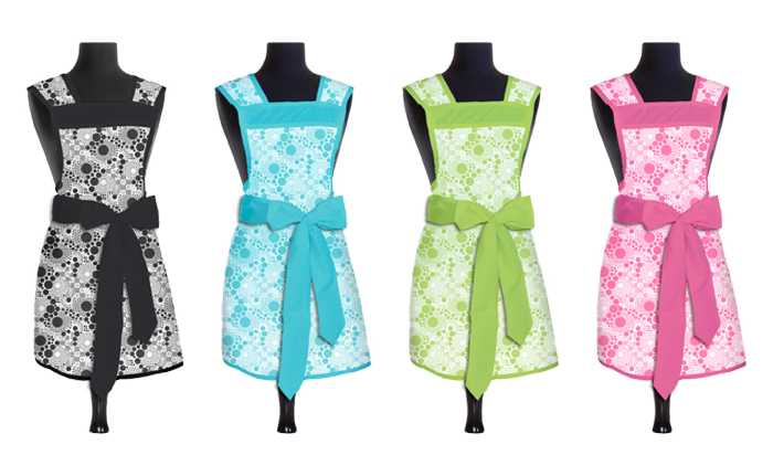 Designer Pop Smock   Aprons  - Product Design & Photography