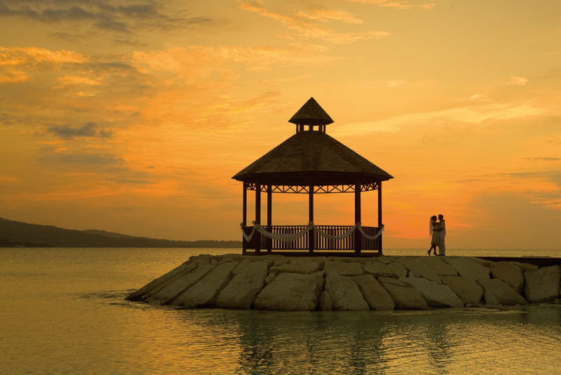 Photo: Gazebo at Secrets Wild Orchid Montego Bay