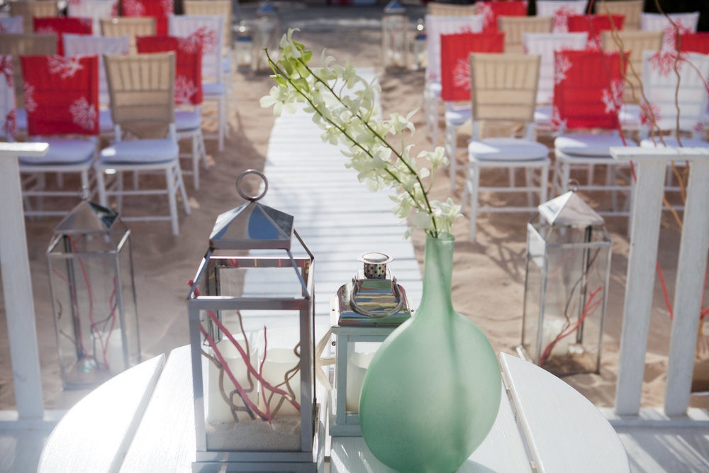 Coastal Bliss Altar Table with View of Chairs .jpg