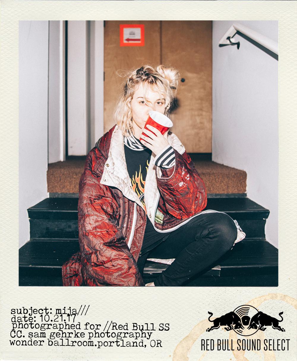Mija for Red Bull Music