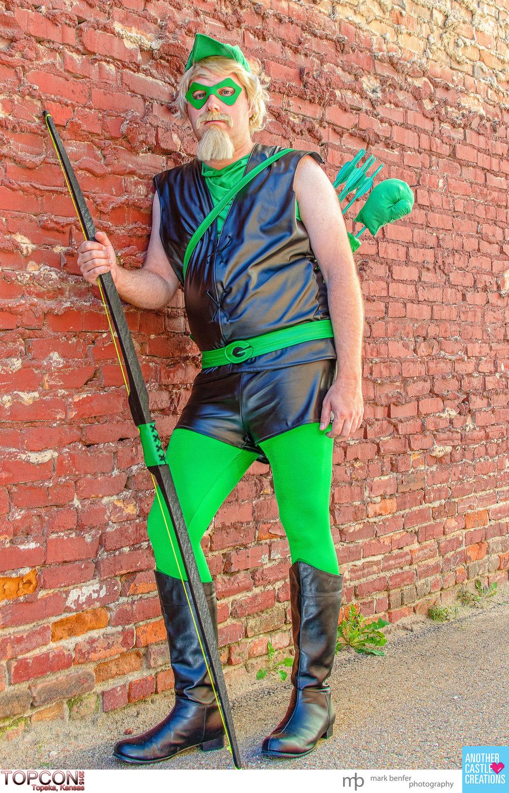 The Walking Farnsworth as The Green Arrow at TOPCON 2015