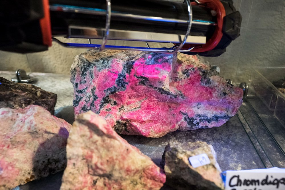 The seller wanted $40,000 for this wonderful piece of tugtupite