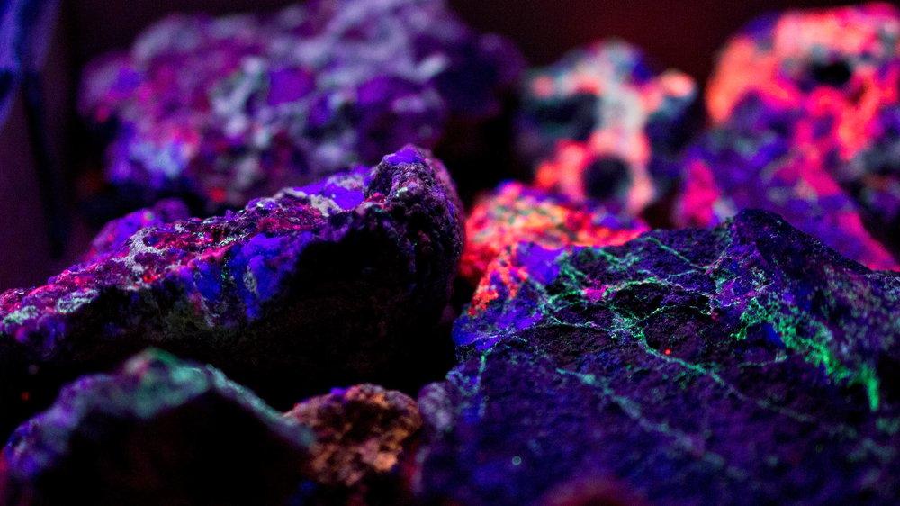Calcite/fluorite from Arizona