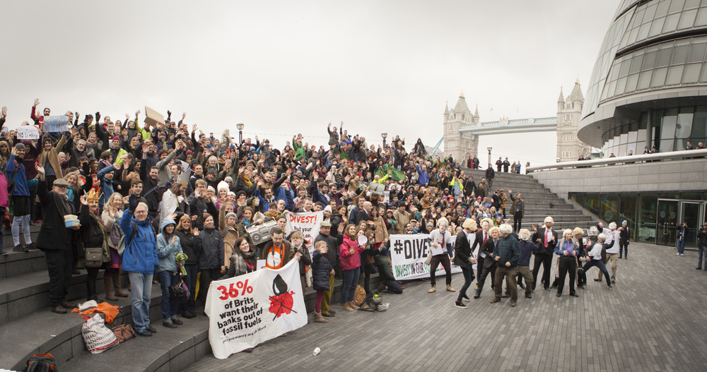 London, Divestment Rally, April 2015