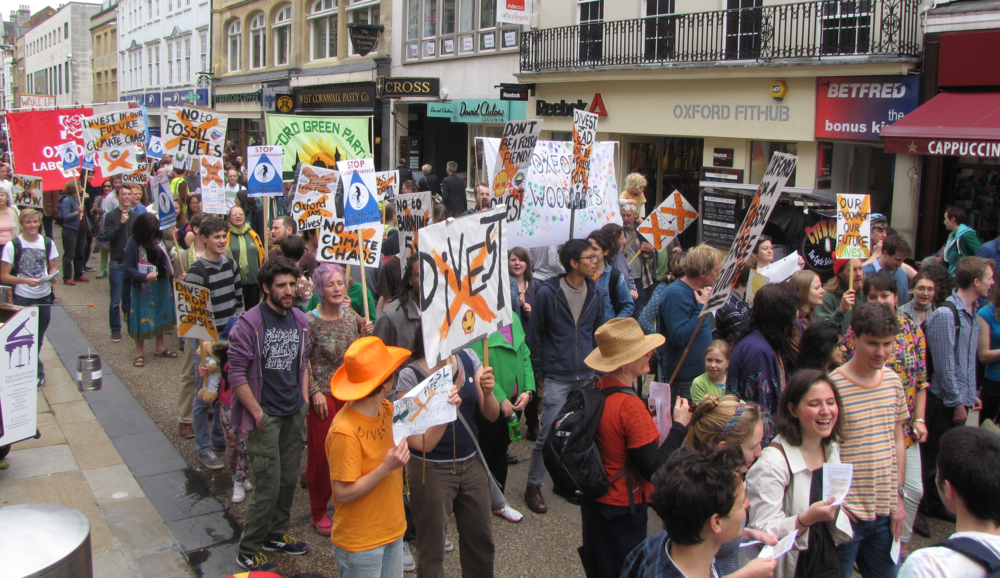 Oxford, divestment rally, 31st May 2014