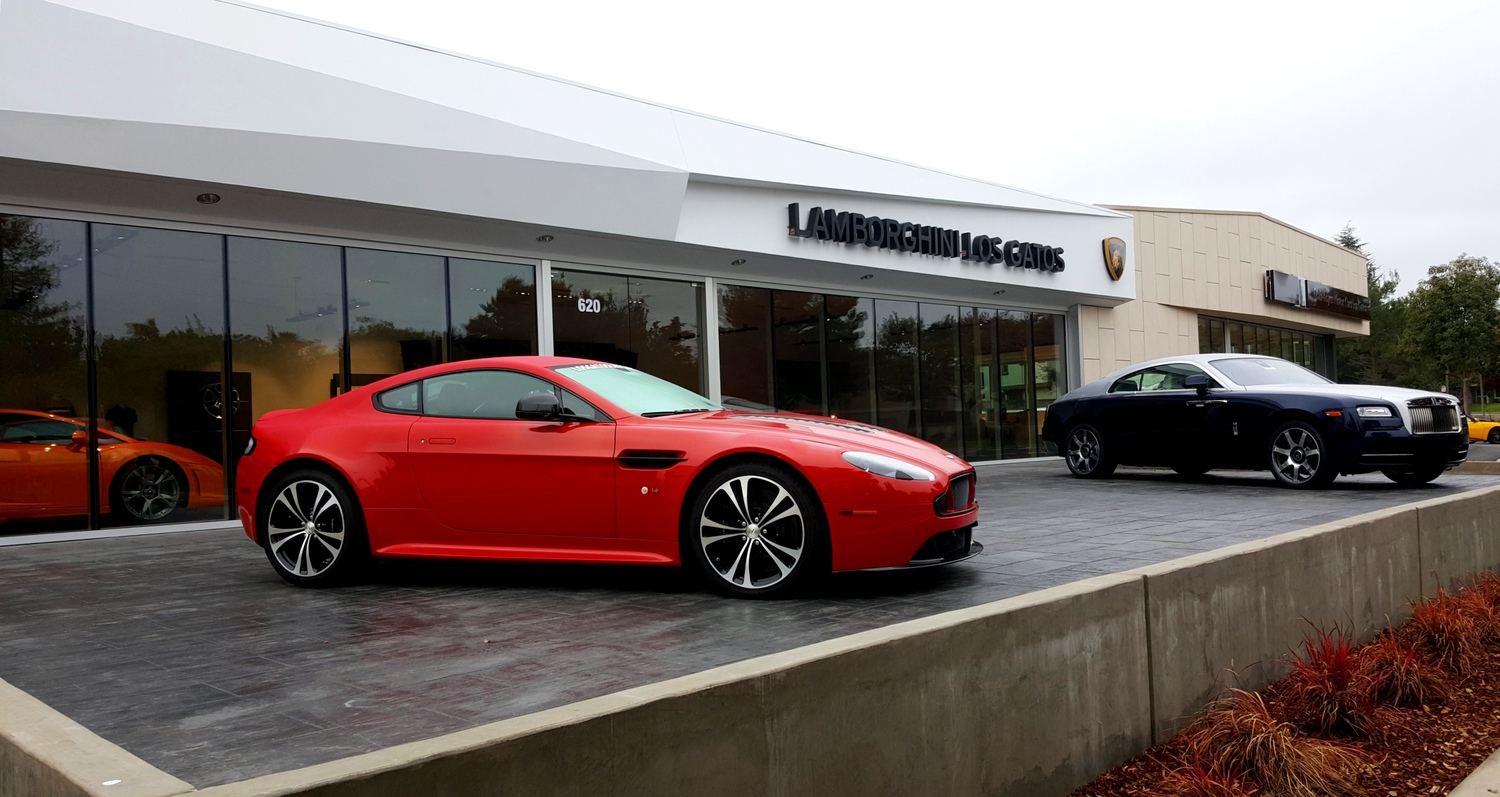 Los Gatos Luxury Cars Morris Shaffer Engineering - Los gatos aston martin