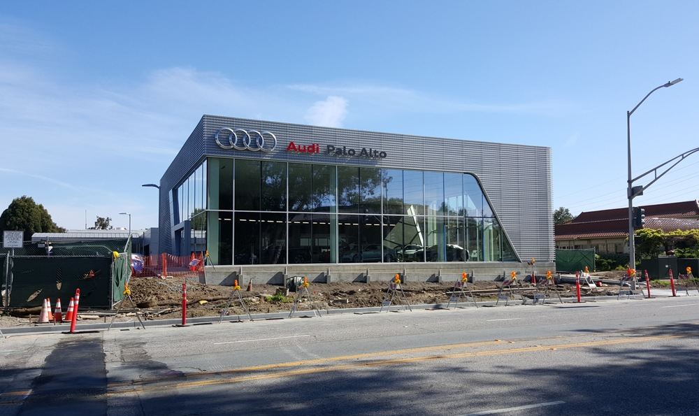 Palo Alto Audi New Car Dealership - Morris Shaffer Engineering