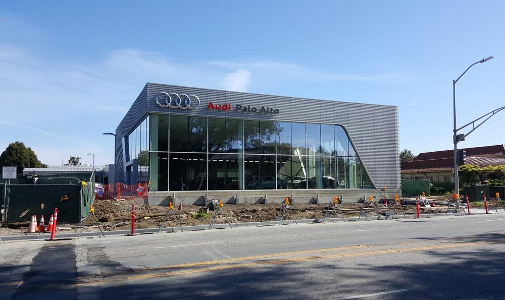 Palo Alto Audi New Car Dealership - Morris Shaffer Engineering