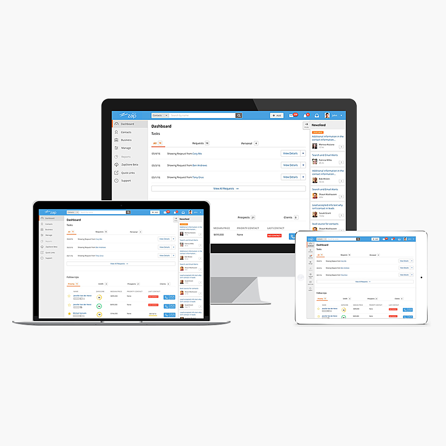 Redesigned the CRM navigation to address user feedback that the app was difficult to navigate.