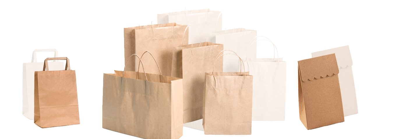 customized paper bags Custom printed paper bags kraft shopping bags eurotote bags grocery & merchandise bags fast food & sandwich bags poly bags reusable bags all non woven bags.